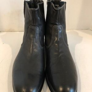 6f88f8d92659 Paul Smith Shoes - Paul Smith Black Italian Leather Zipper Mens Boots